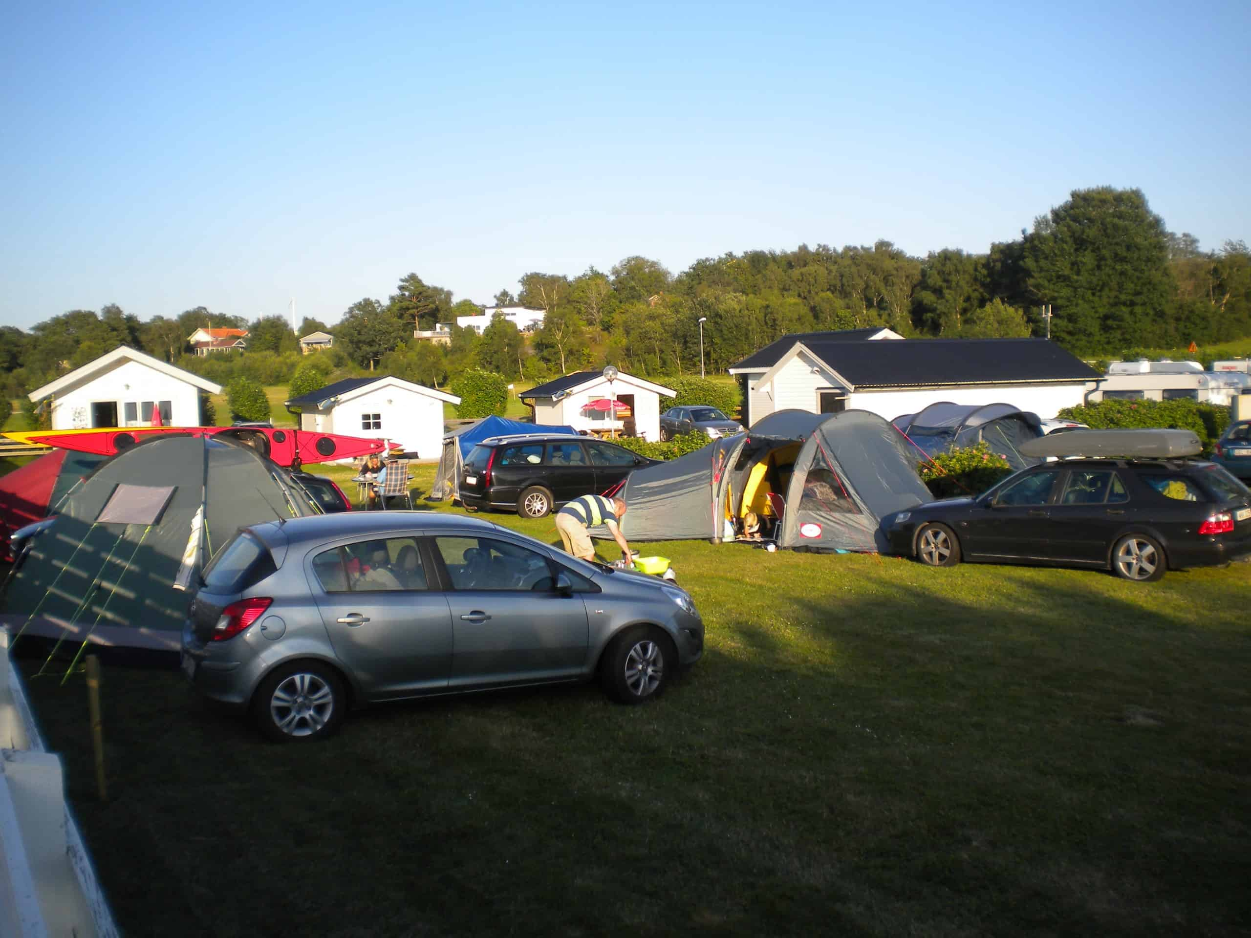 Tent pitch